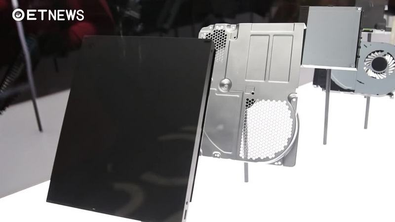 XBOX ONE X展示拆解元件