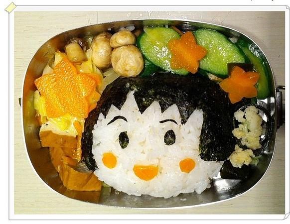 台湾妈妈分享可爱造型便当 孩子吃完:我好幸福喔!