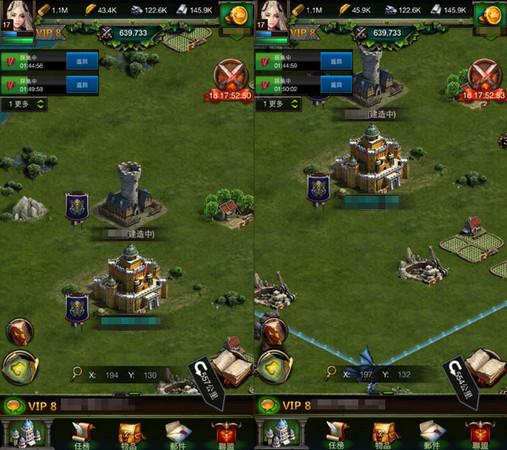 联盟哨塔会遭受攻击,被击败后哨塔会被持续摧毁