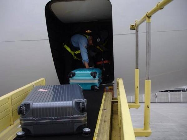 飞机货舱分布图
