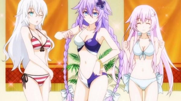 阳光,沙滩,比基尼!3种动漫美少女清凉照出炉