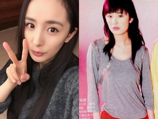 杨幂的闺蜜「catticatti」29日在微博po出昔日拍的大头贴,委屈地替