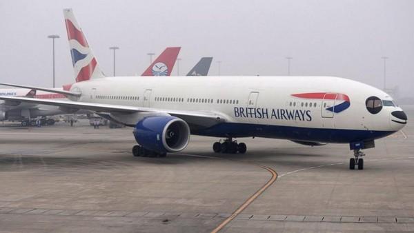 英航班机驾驶舱缺氧 机师戴氧气罩紧急折返伦敦