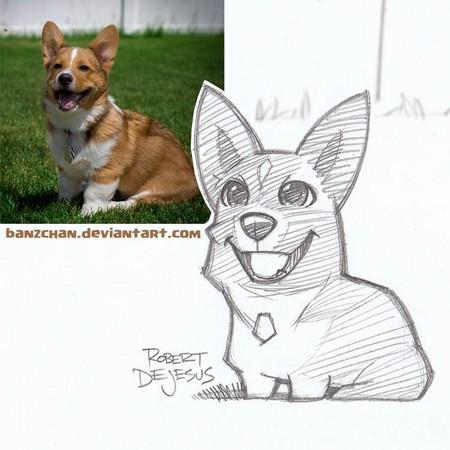 q版许多猫咪萌图手绘