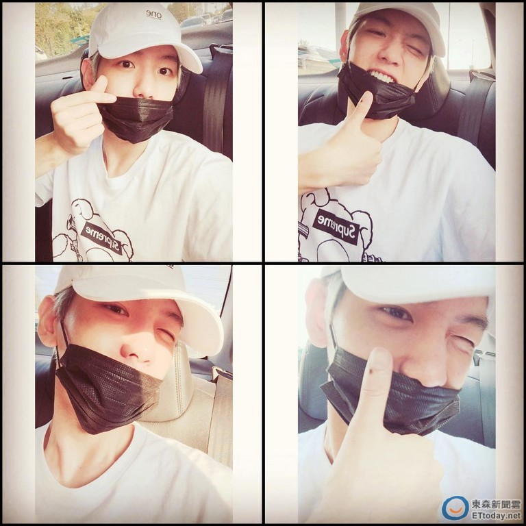 exo抱走「最佳歌手奖」 伯贤手比爱心撒娇谢粉丝