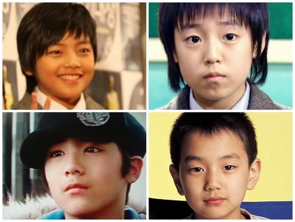 南韩四大男童星「帅翻」
