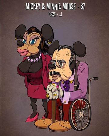 想哭!那些陪伴我们的卡通人物渐渐老去了