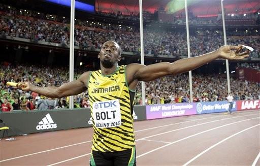 牙買加短跑選手博爾特,Usain Bolt(圖/達志影像/美聯社)