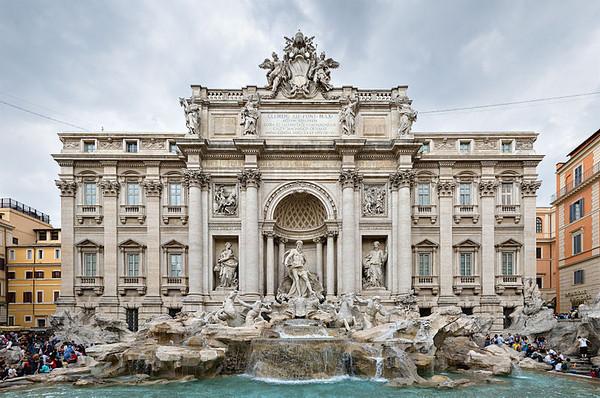 「羅馬的特雷維噴泉」的圖片搜尋結果