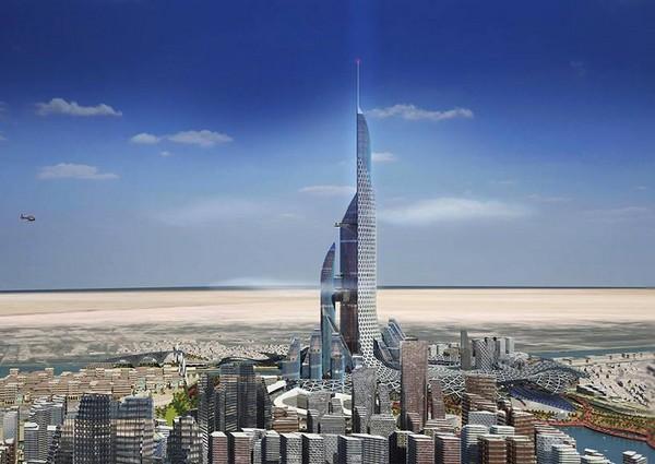 世界最高的吉达国王塔还没
