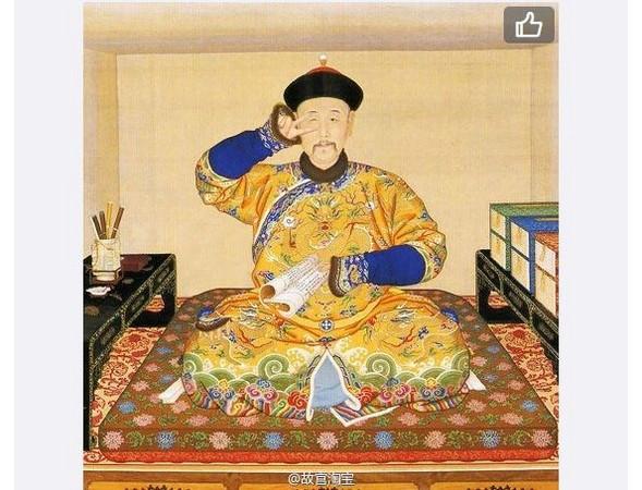 雍正皇帝装可爱 北京故宫微博让帝王,才女「萌起来」