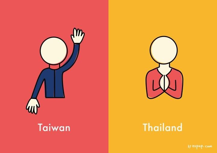 代表动物:台湾黑熊是台湾的明星动物;大象是泰国的象徵与骄傲.   8.