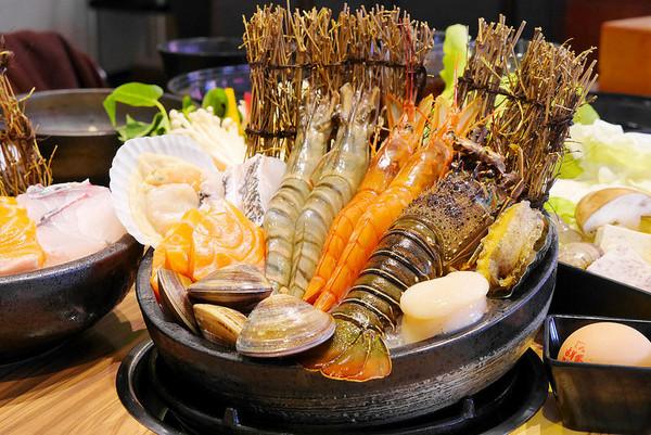 重量级海龙王锅!吃得到天使玫瑰、巨虾、攻略龙虾v天使五台山图片