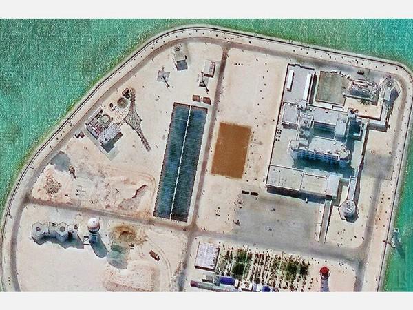 南沙赤瓜岛完工 渚碧岛进度输「面积最大」的美济礁