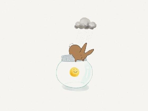 「小兔子大世界」画风清新可爱,但传达的讯息又很幽默,有时候甚至有