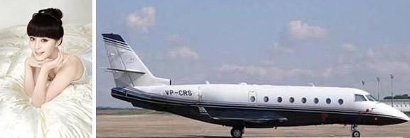大明星们的私人飞机动则上亿