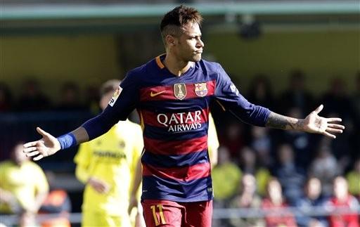 巴西足球明星Neymar(達志影像)