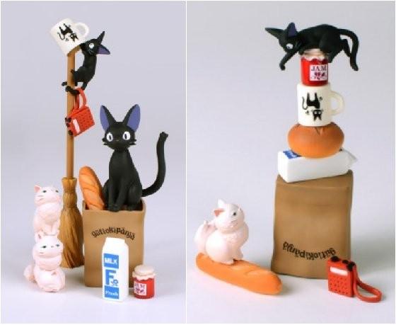宫崎骏爷爷的龙猫巴士叠叠乐 桌面最疗愈的收藏小物!