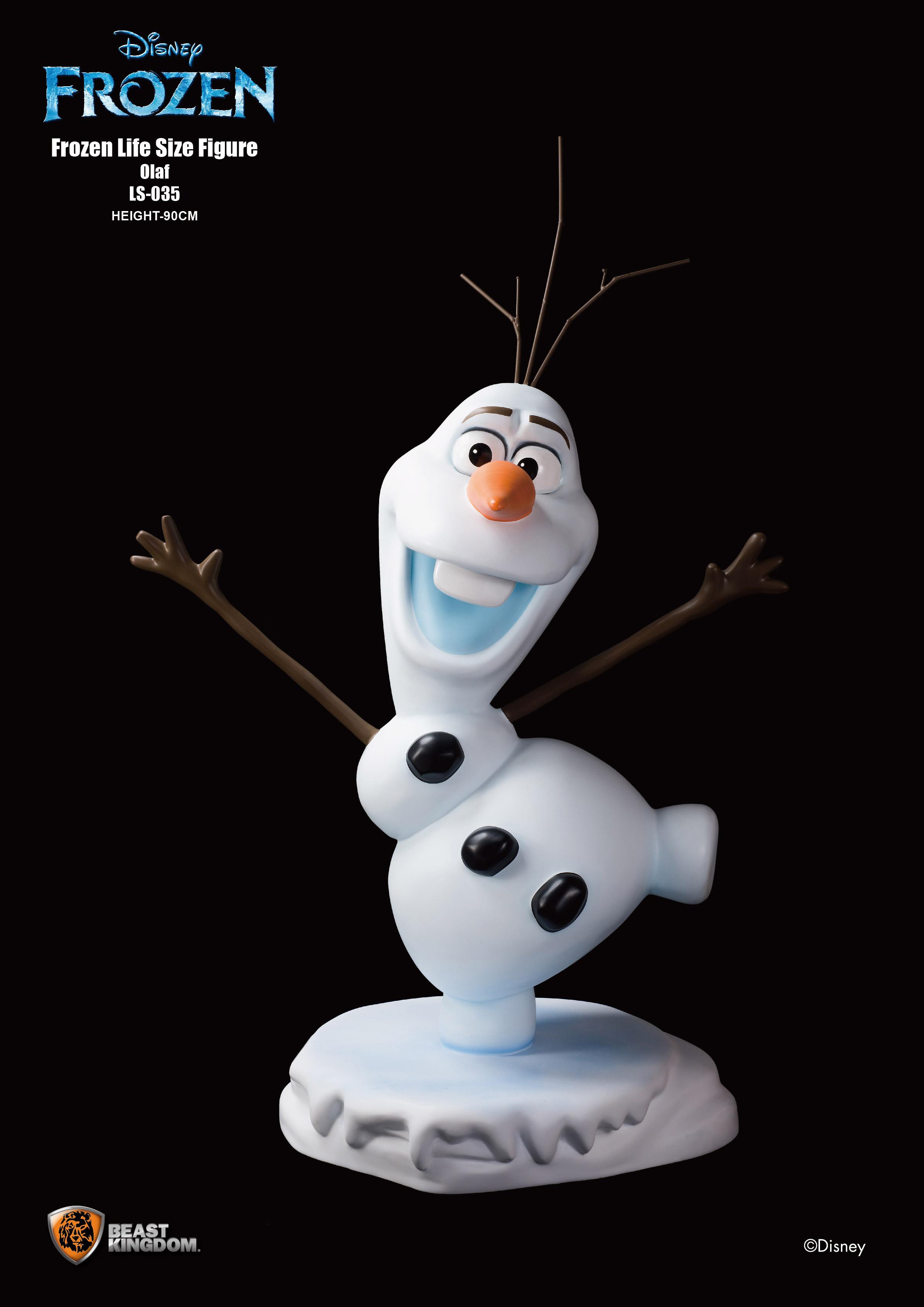 《冰雪奇缘》公主等身公仔真实呈现 脸部表情栩栩如生