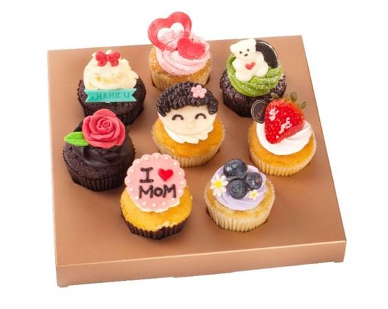唤醒妈妈的少女心!诚品母亲节推8款可爱杯子蛋糕