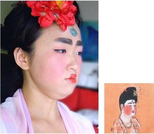 「唐朝仕女妆」爆红 部落客gatita被赞「一定是宠妃」