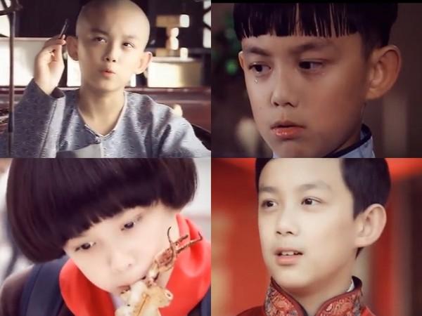 影片收录了吴磊扮演过的35个角色,小时候演「杨六郎」,为戏发型换过图片