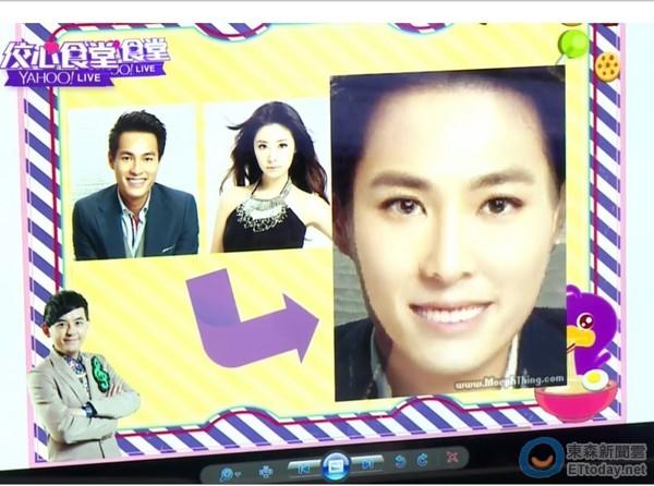 林心如跟杨佑宁「合成baby」 却惊现资深女星脸孔!图片