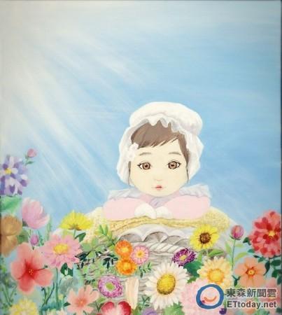 可爱母子头像绘画
