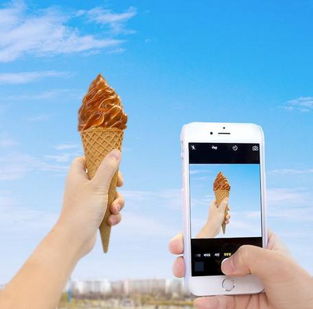 海盐焦糖冰淇淋」