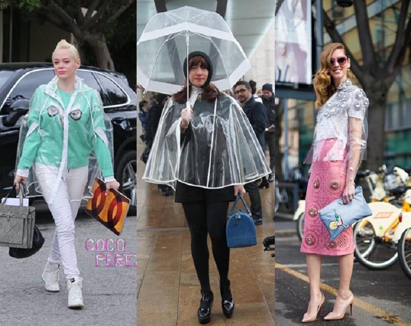 雨天不狼狈 雨衣就是最潮时尚单品