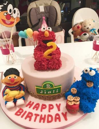 王力宏老婆也疯翻糖!「迷你版」芝麻街蛋糕跟真的一样图片