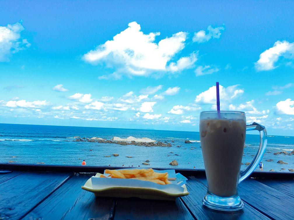 ▼逐浪海景咖啡的风景.(图/记者蔡玟君摄)