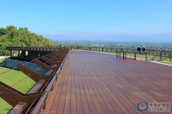 二寮全新观景可容纳2000人.(图/西拉雅风景区管理处提供)-360度