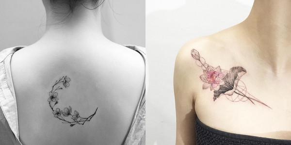 平衡纹身图案设计