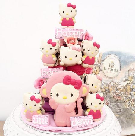 品 宝可梦马卡龙塔 生日蛋糕就决定是你了