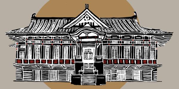 插画家手绘12座老建筑「日式老屋颜