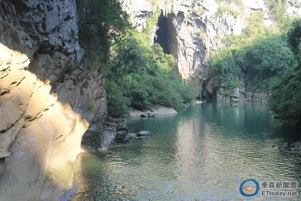 鹿寨香桥岩溶国家地质公园,为大陆国家4a级景区.(图/记者黄伟家摄)