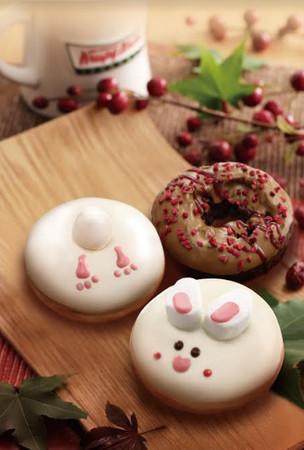 好可爱!美式甜甜圈变「萌兔」中秋礼盒限定抢市