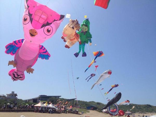 卡通人物轻飘飘飞上天 新北风筝节9月24日登场