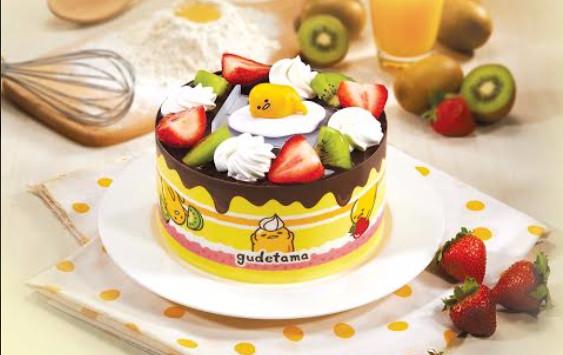 蛋黄哥公仔蛋糕,呆萌表情超可爱.(图/业者提供)