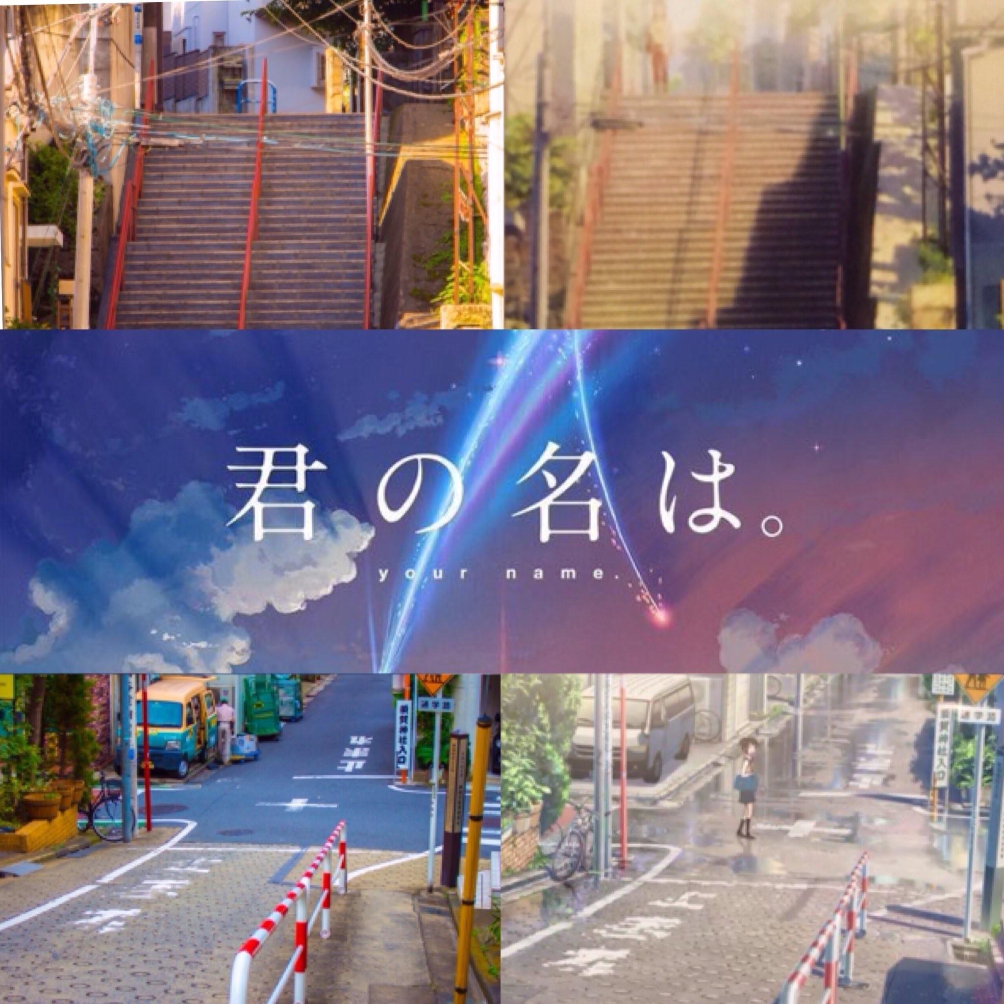 《你的名字》场景神美还原!东京步道桥,神社成热门景点