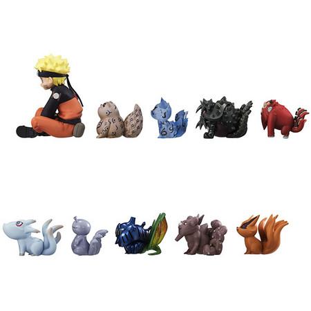 《火影忍者疾风传》 漩涡鸣人与尾兽们」包含了主角漩涡鸣人和九只