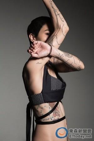 女生手背纹身图案平面图