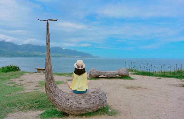 漂流木雕塑
