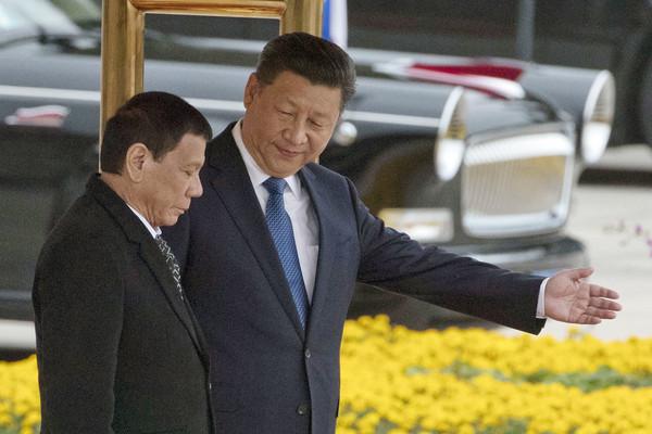 菲律賓部長級代表團抵北京 2天敲定150億美元經貿協議
