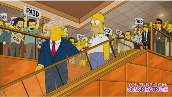 超神!蔡依林,辛普森10几年前早预言川普当选美国总统