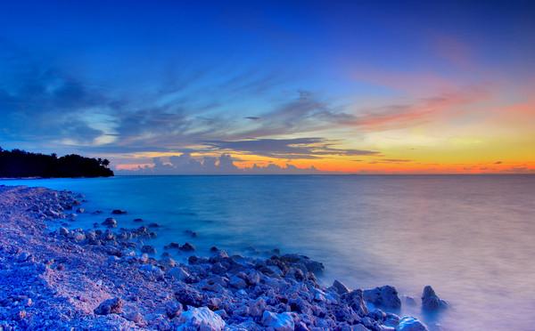 太平岛如「台版马尔地夫」 抬头一览星空之美