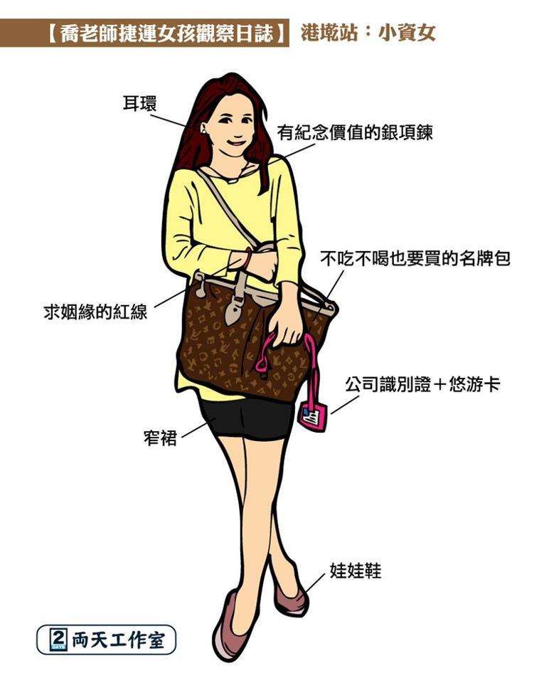 北捷红线穿搭比拼!敦化妞最骚、女孩「这站」中部47中高广州图片