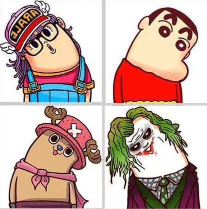 q版卡通人物「歪脖子救地球」 微博新兴搞笑邪教