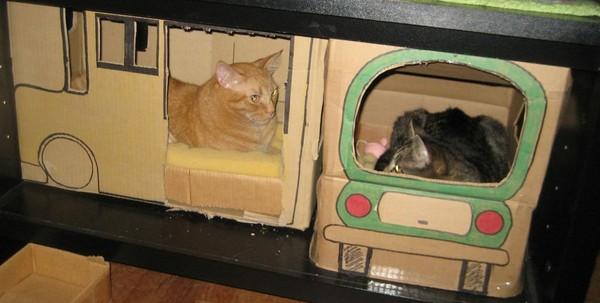 立体动物纸箱制作方法
